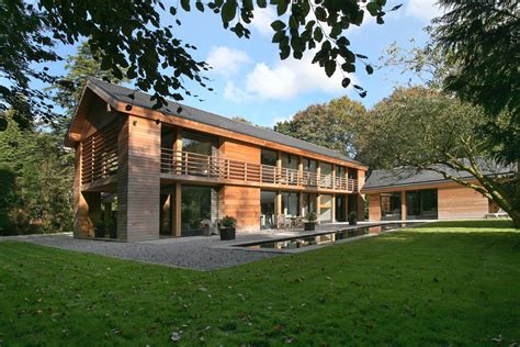 house design awards uk award winning cedar home resonates with treed
