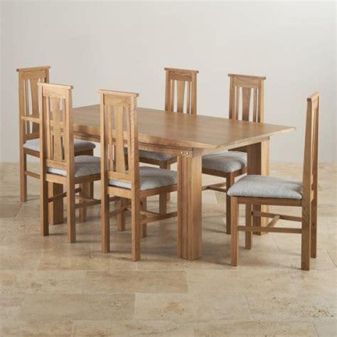 oak dining table set dining sets free delivery oak furniture land