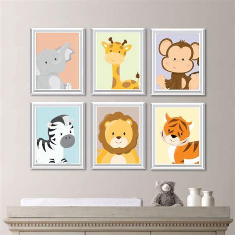 jungle nursery decor baby nursery print animal nursery decor jungle nursery