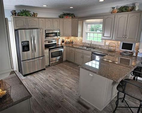 popular gray paint colors for kitchen cabinets warm kitchen design decoration with small windows and gray