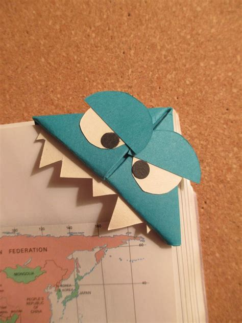 origami monsters 66 best images about handmade origami bookmarks on