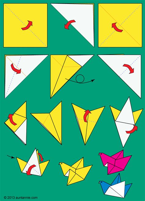 make origami bird how to make origami flying birds friday