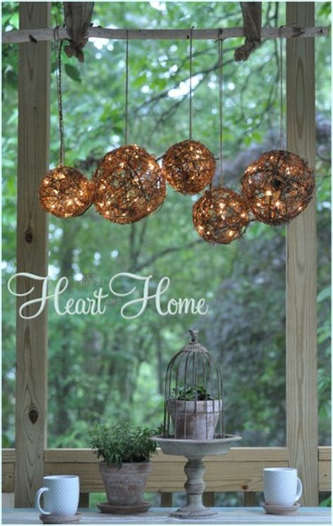 outside chandeliers 15 diy projects to spruce up your porch