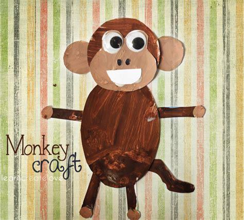 Printable Monkey Craft