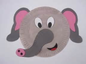 paper plate elephant craft crafts actvities and worksheets for preschool toddler and