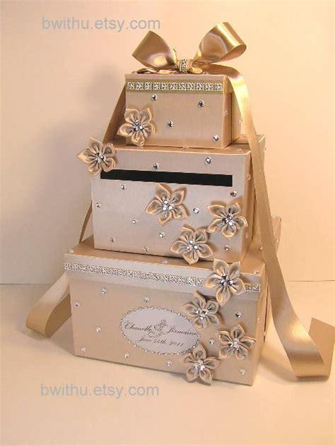 wedding card box chagne wedding card box gift card box money box by