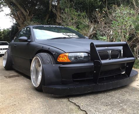 Bmw E46 by Bmw M3 E46 Follows Strange New Japanese Tuning Trend
