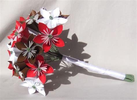 custom origami custom paper flower bridal bouquet aftcra