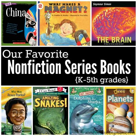nonfiction picture books for favorite nonfiction series books for k 5th grades this