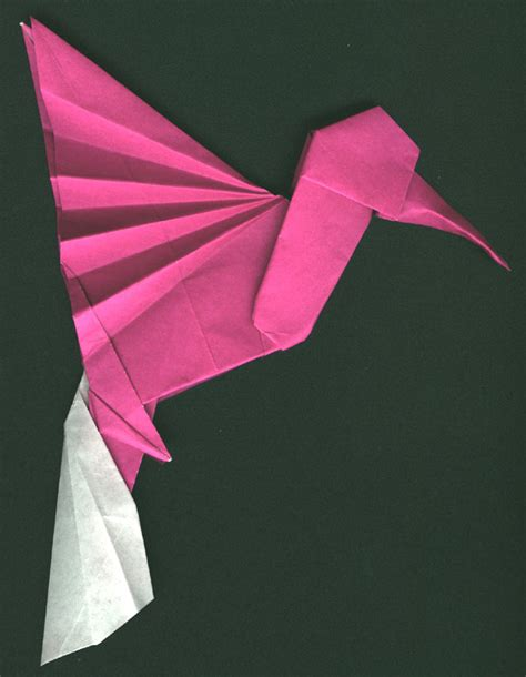 hummingbird origami hummingbird po archives