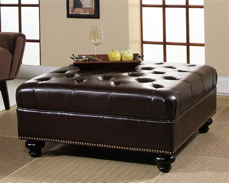 storage leather ottoman leather ottoman furniture guide leather sofa guide