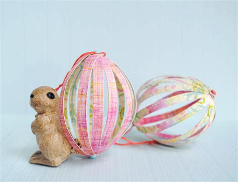Zakka Craft Paper Easter Eggs