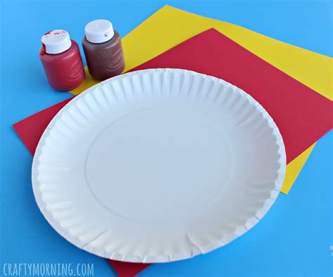 paper plate pizza craft paper plate pepperoni pizza craft crafty morning