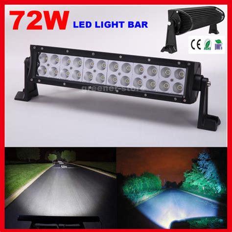 14 inch led light bar neon led lights 14inch 72w cree led light bar flood