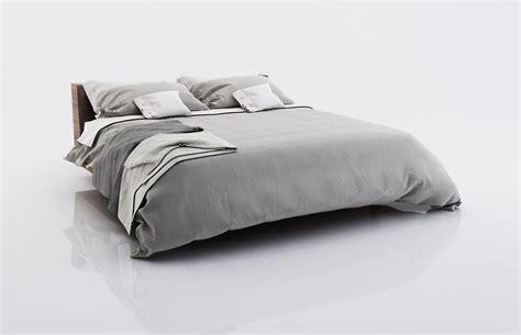 bed blankets bed linen with blankets 3d model max obj fbx c4d