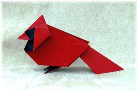 origami cardinal origami gallery 2011