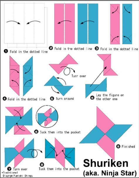 how to make origami numbers visual cyberstef