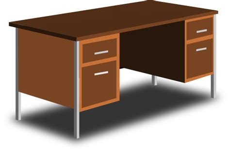 office desk clipart an office desk clip at clker vector clip