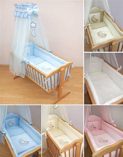 baby cradle bedding set 9 crib baby bedding set 90 x 40 cm fits swinging