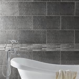 carrelage salle de bain gris et blanc peinture faience salle de bain