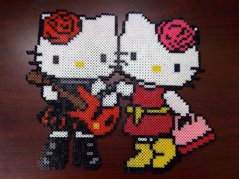 hello perler 17 best images about hello on perler