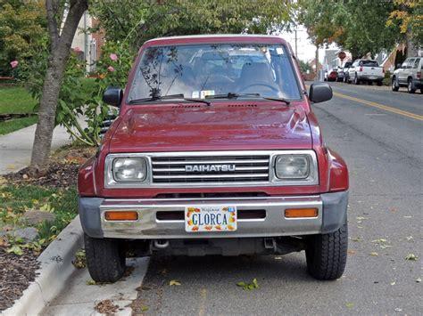 1990 Daihatsu Rocky by Curbside Classic 1990 Daihatsu Rocky Se Technical Knockout