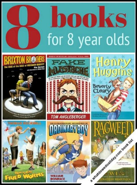 Recommended Books For 8 10 Year Olds And A New After
