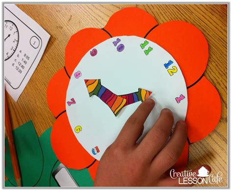 clock craft project grade gallery lessons for learners clock