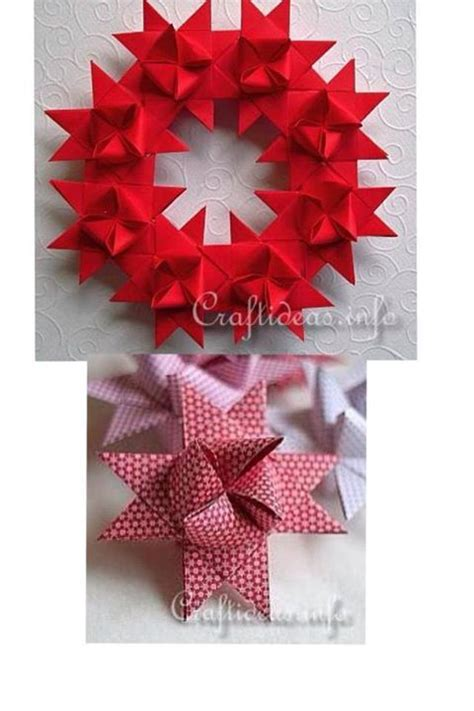 make paper crafts how to make beautiful german wreath paper craft step