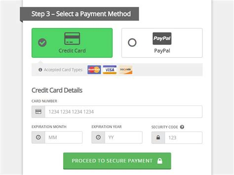 card make payment designing credit card payment forms visual hierarchy