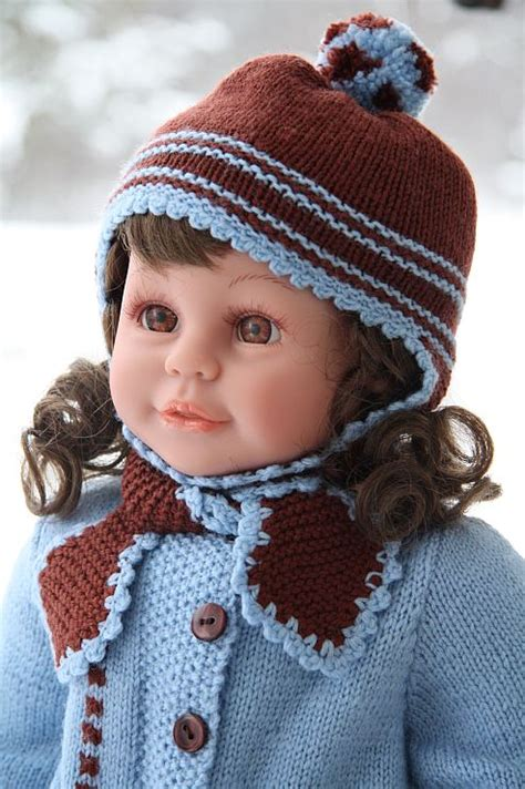 free 12 inch doll knitting patterns free patterns for knitted and crocheted 16 1 2 doll clothes
