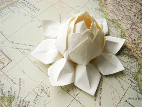 japanese flower origami unique wedding ideas japanese influenced wedding style