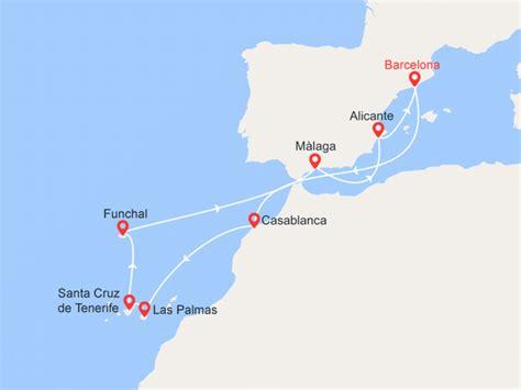 cruceros con salida desde tenerife cruceros islas canarias las mejores ofertas de cruceros