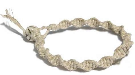 how to make a hemp bracelet with spiral knot a hemp bracelet factory direct craft