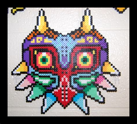 how to make a bead mask majora s mask perler by maypoman on deviantart