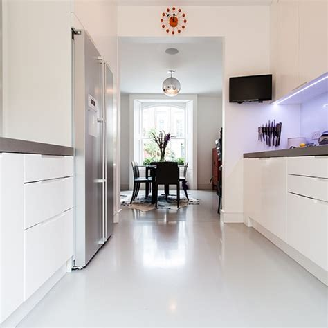kitchen tile ideas uk poured resin floor kitchen flooring ideas 10 of the best housetohome co uk