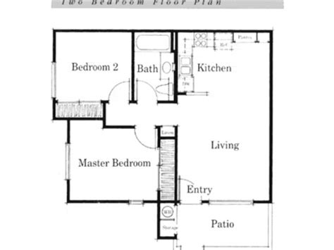 simple open floor house plans small house floor plan small two bedroom house plans