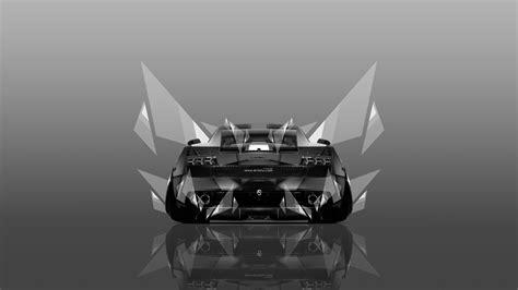 4K Wallpapers Lamborghini Gallardo Back Abstract Car 2014