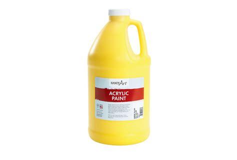acrylic paint gallon 1 2 gallon paint discount school supply