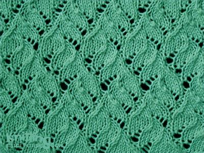 what does ssk in a knitting pattern lace kniting in the knitting stitch patterns