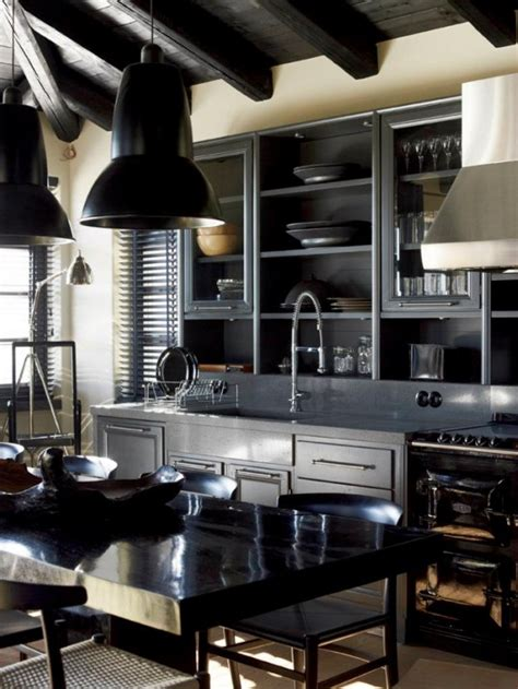 Kitchen Ideas For Older Homes house that combines industrial and traditional style