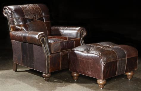 leather chairs and ottomans image gallery leather chairs and ottomans