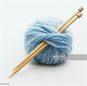 how to do a yarn in knitting knitting needles in of yarn stock photo getty images