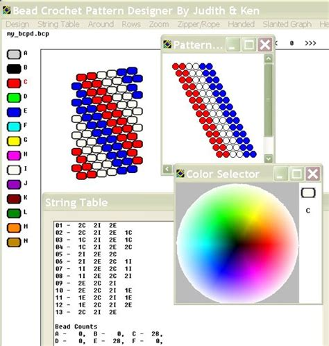 bead pattern software bead line studios bcpd bead crochet software