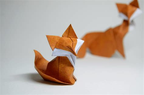 3d origami fox related keywords suggestions for origami fox