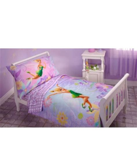 tinkerbell toddler bed set tinkerbell 4 toddler bedding set 56 99