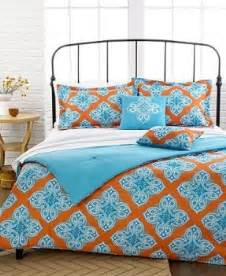 orange and blue comforter set comforter sets foter