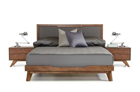 walnut bedroom furniture sets domus soria mid century grey walnut bedroom set