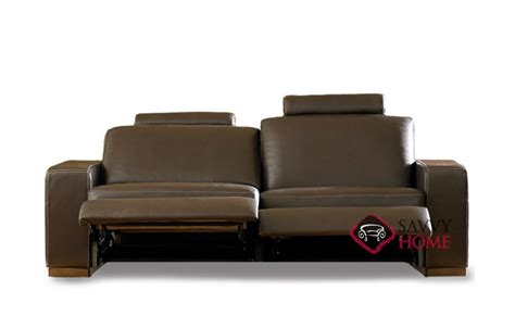 natuzzi reclining sofa corno a397 leather sofa by natuzzi is fully customizable