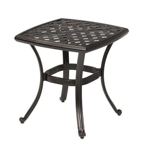 patio side table metal metal patio side table black metal patio side tables